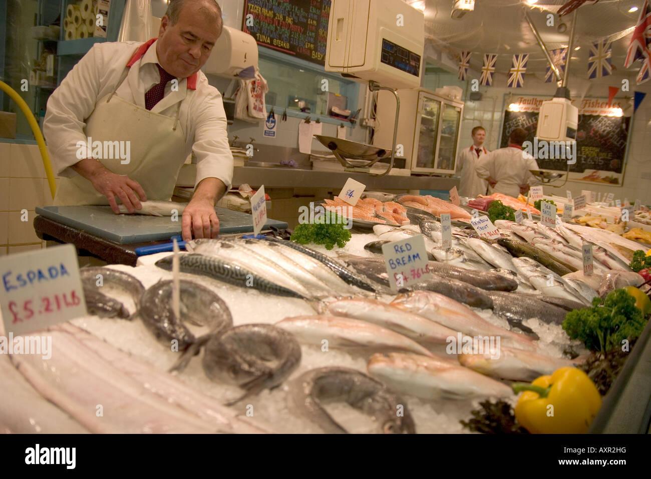Espada fish stock photos espada fish stock images alamy for Fish market jersey city