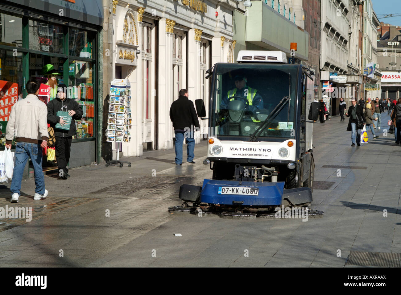 Electric Street Sweeper Stock Photos Amp Electric Street