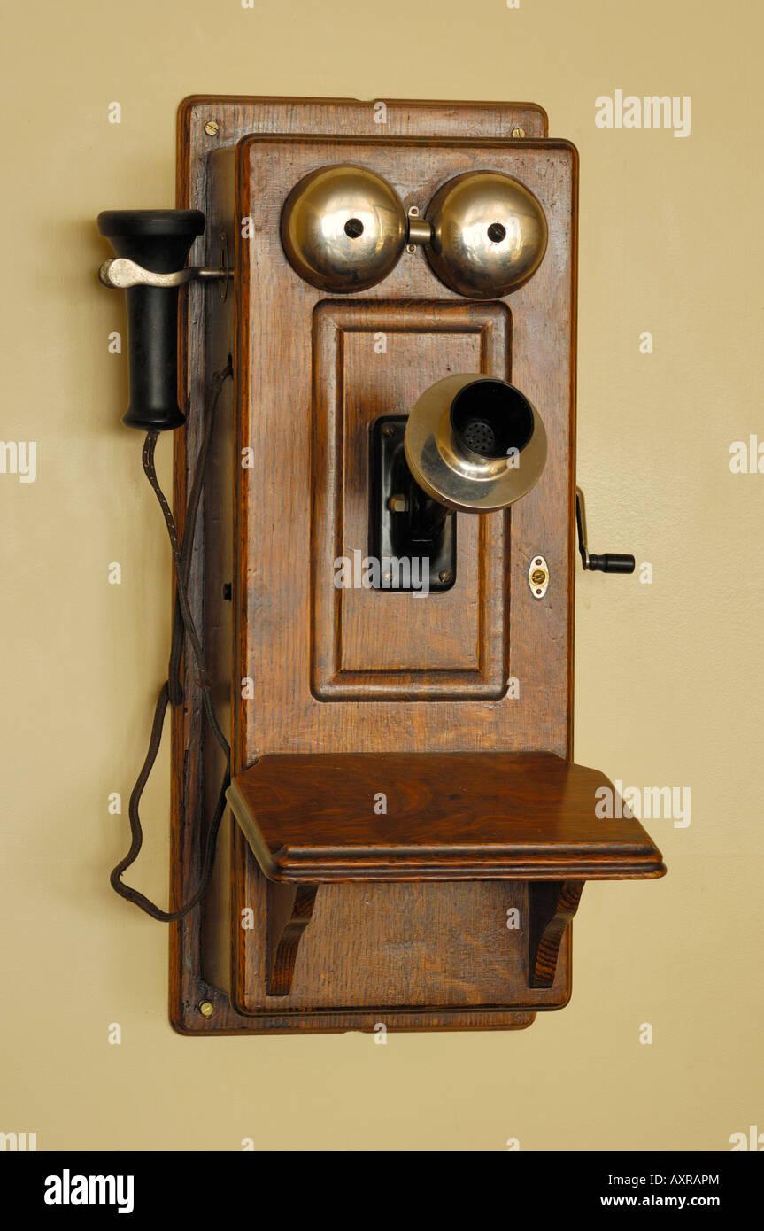 Crank Telephone Stock Photos Amp Crank Telephone Stock