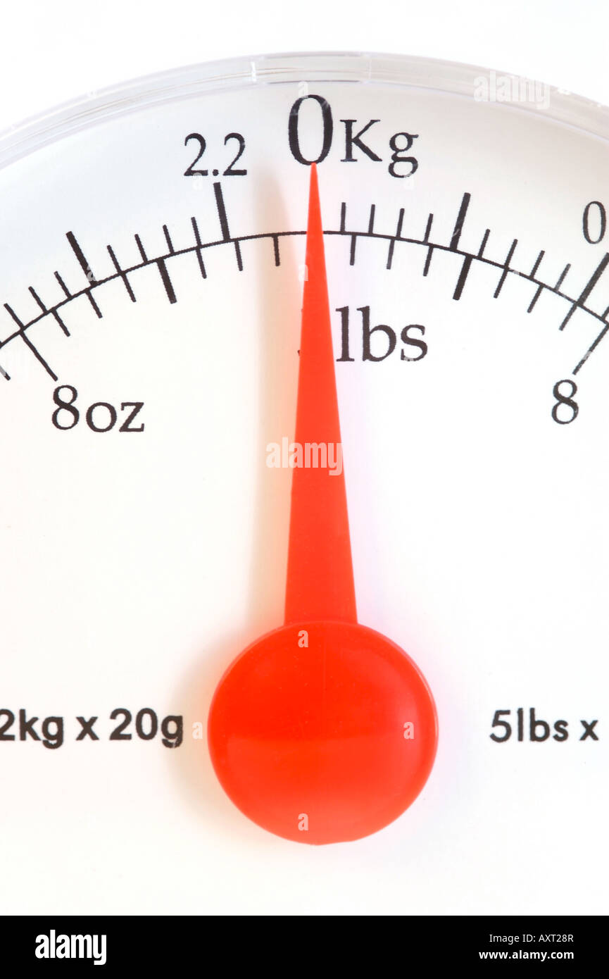 Kitchen Scales - Stock Image