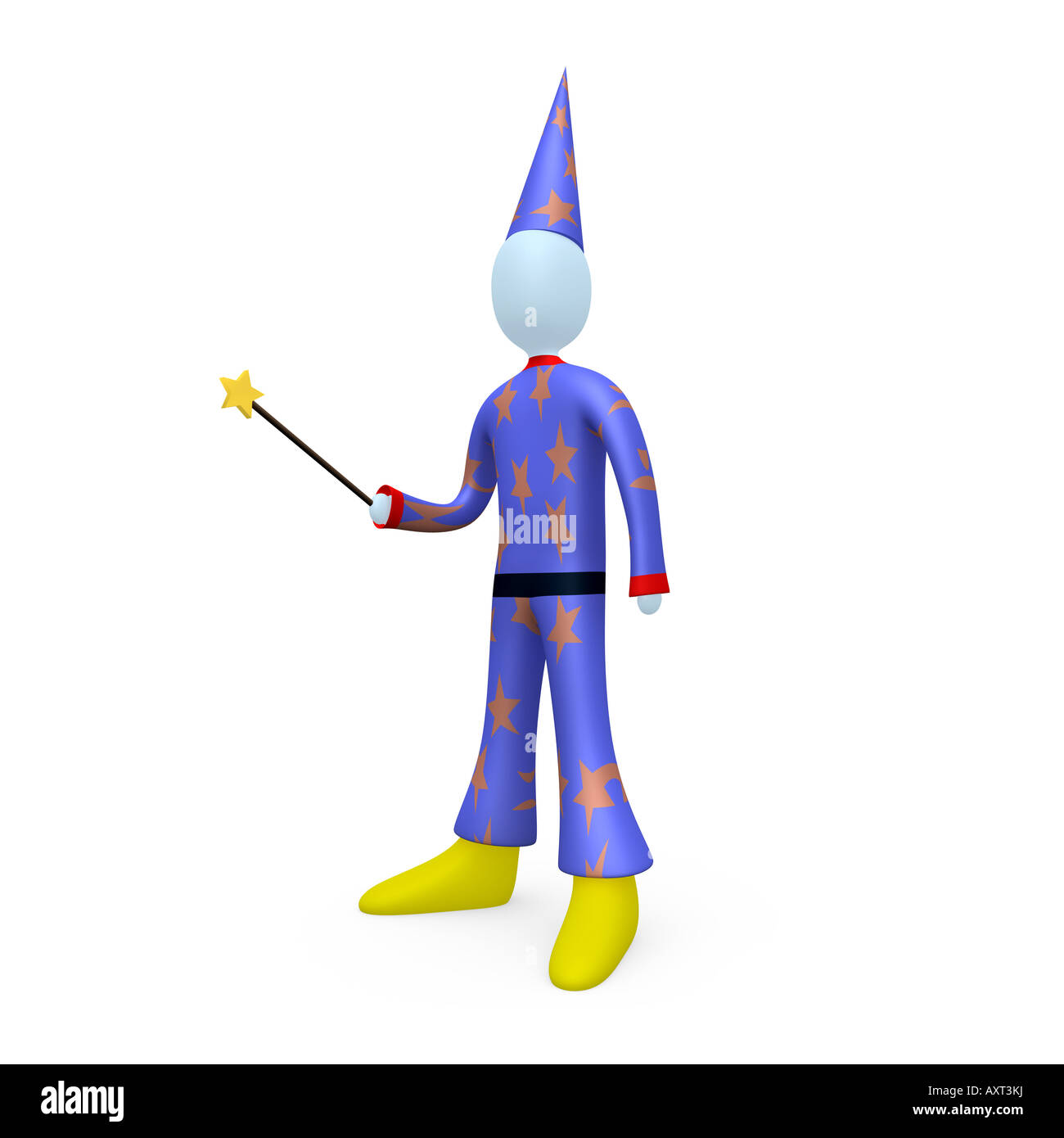 Wizard - Stock Image