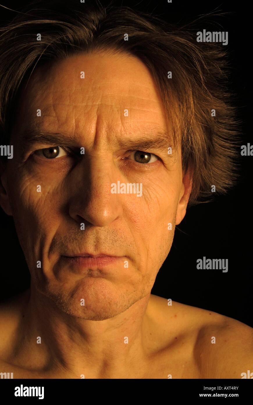 deformed face man - HD870×1390