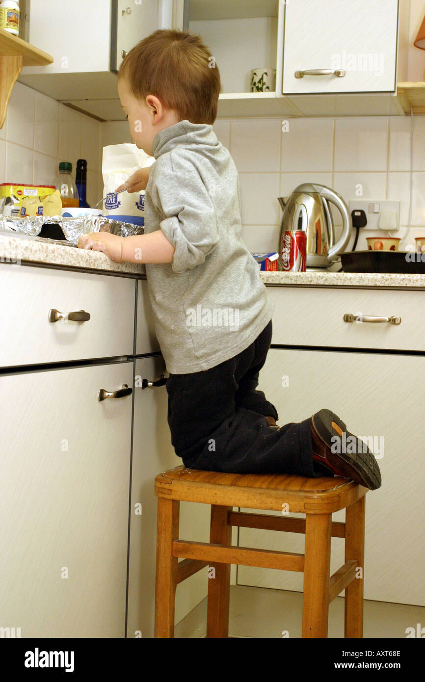 Toddler Fell Off Kitchen Chair