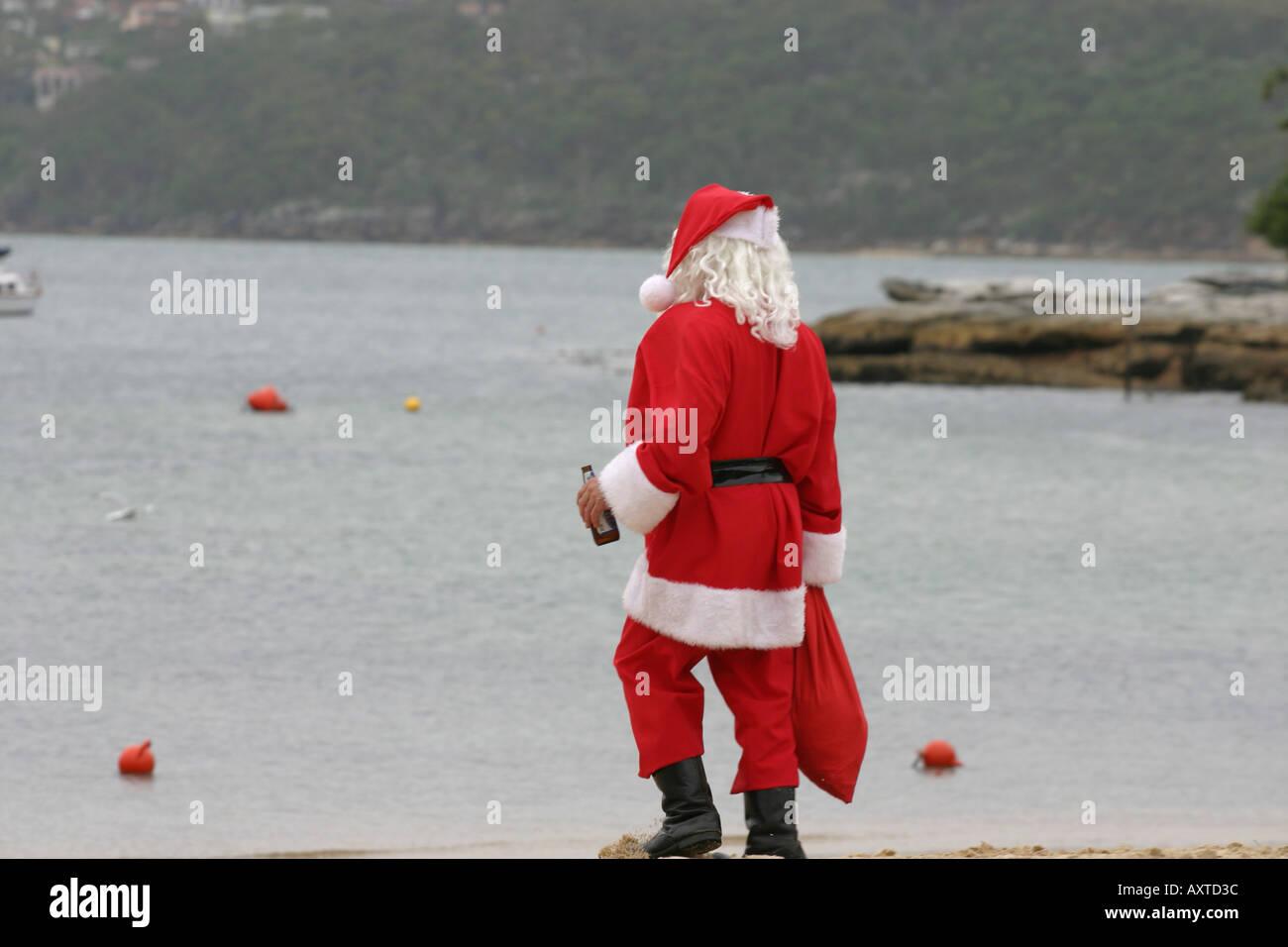 Christmas In Australia Santa.Australian Santa Claus Stock Photos Australian Santa Claus