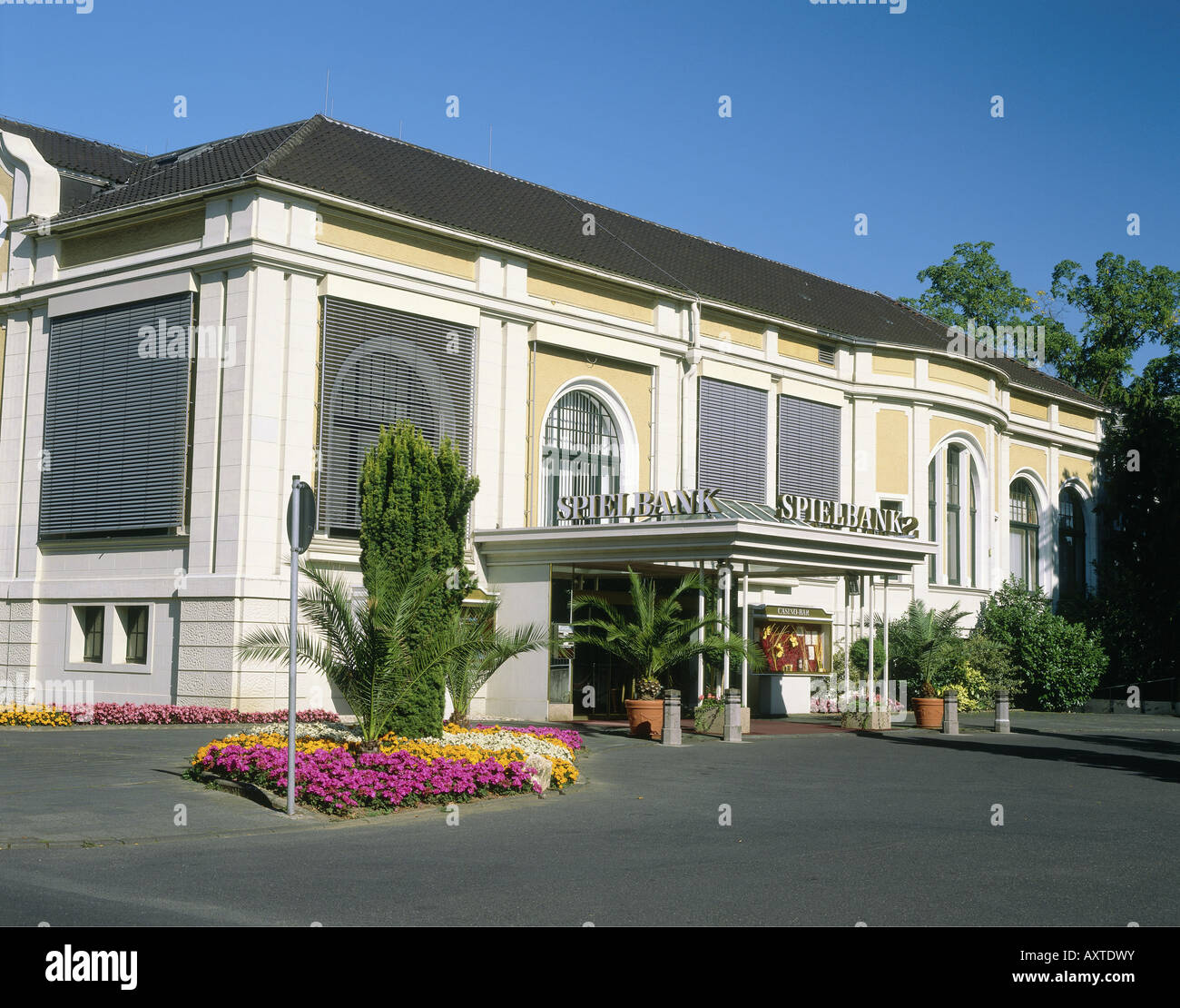 geography / travel, Germany, Rhineland-Palatinate, Bad Neuenahr-Ahrweiler, buildings, casino, built: 1903 - 1905, - Stock Image
