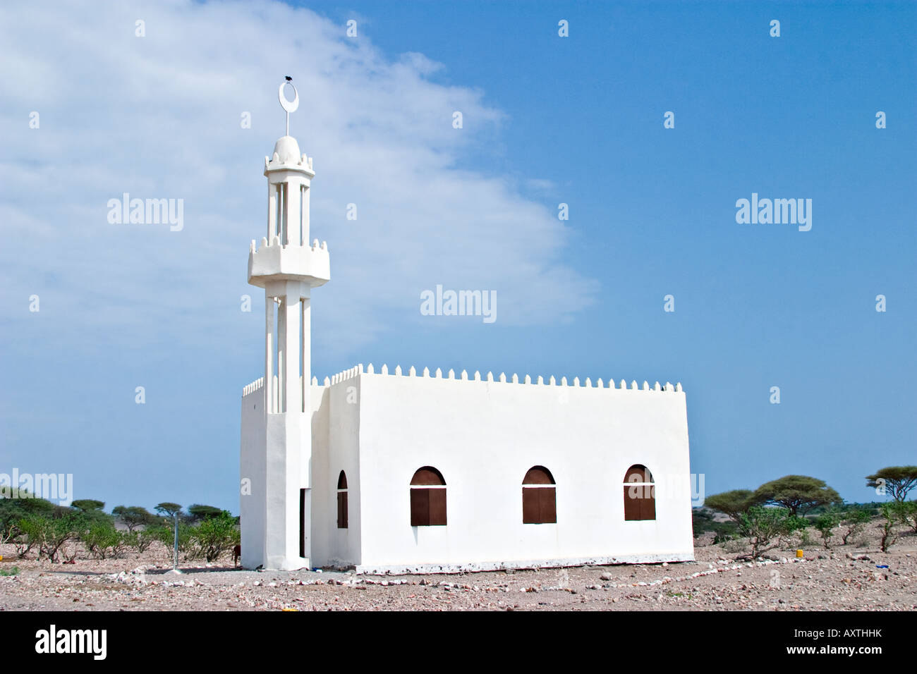 Sayallou Mosque, Tadjoura, Djibouti, Africa - Stock Image