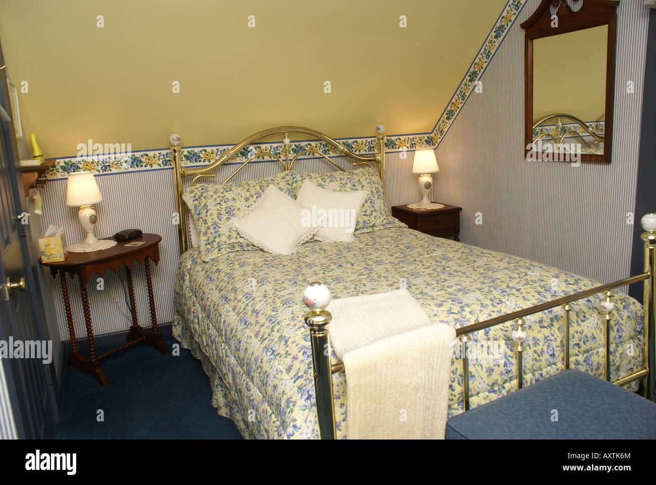 Bedroom antiques - Stock Image
