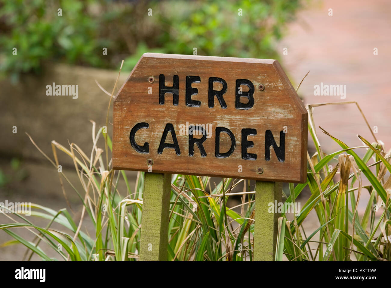 Sign Herb Garden Stock Photos & Sign Herb Garden Stock Images - Alamy