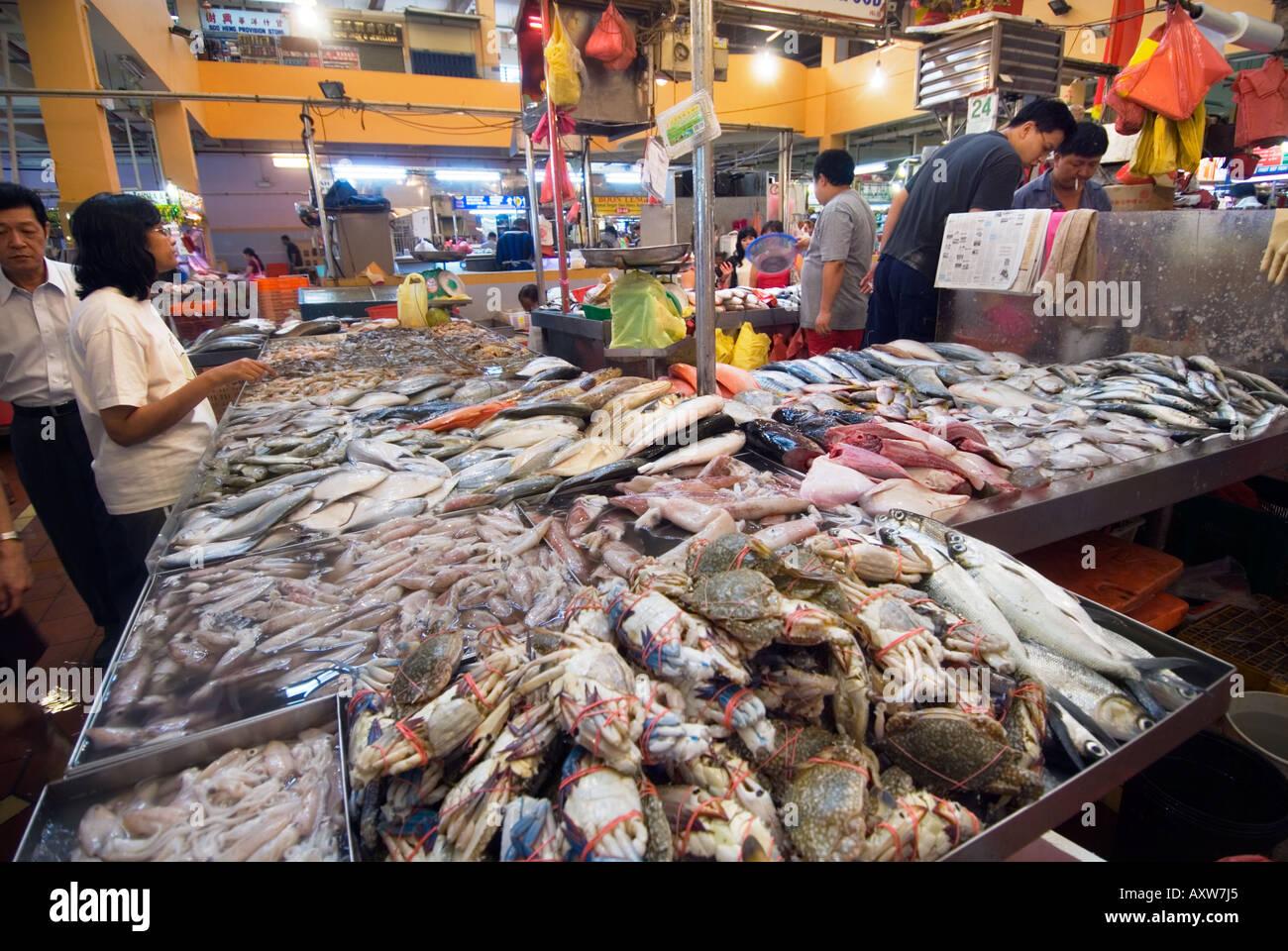Tekka centre little india fishmarket fish market singapore for Empire fish market