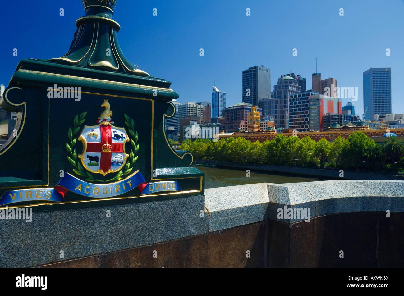 City centre, Melbourne, Victoria, Australia, Pacific - Stock Image