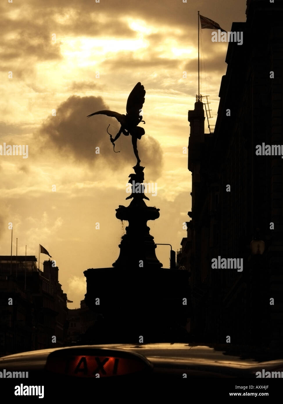 picadilly archer - Stock Image