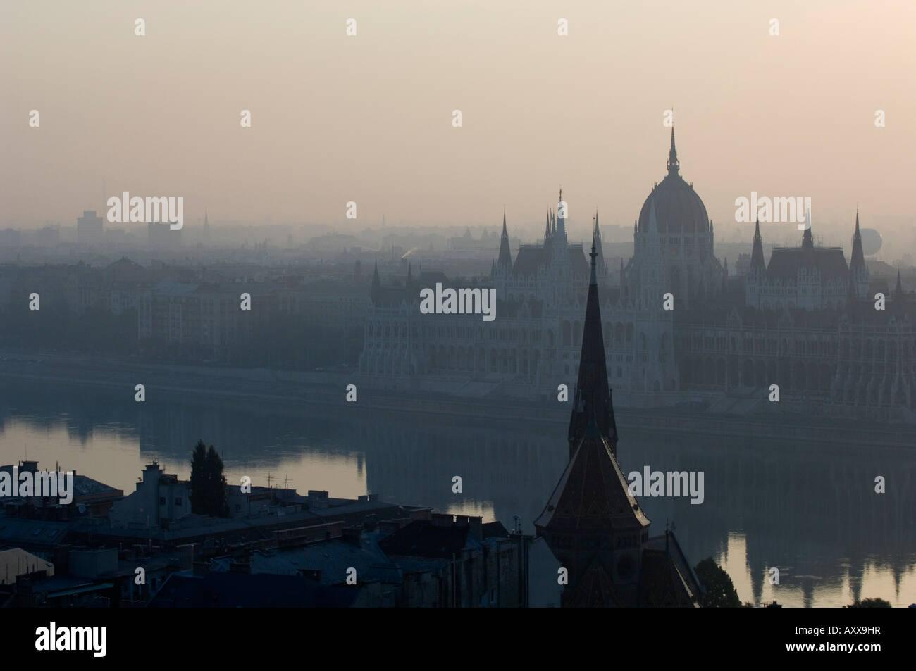 Parliament Building, Budapest, Hungary - Stock Image