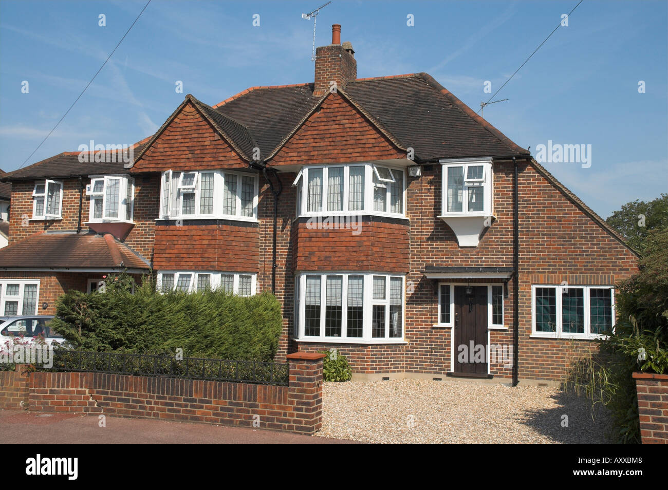 1930s House Building Uk Stock Photos 1930s House Building Uk Stock