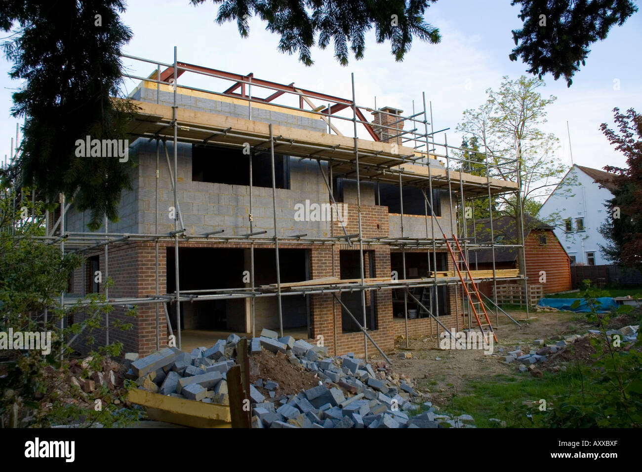 New Homes Being Build In Guildford