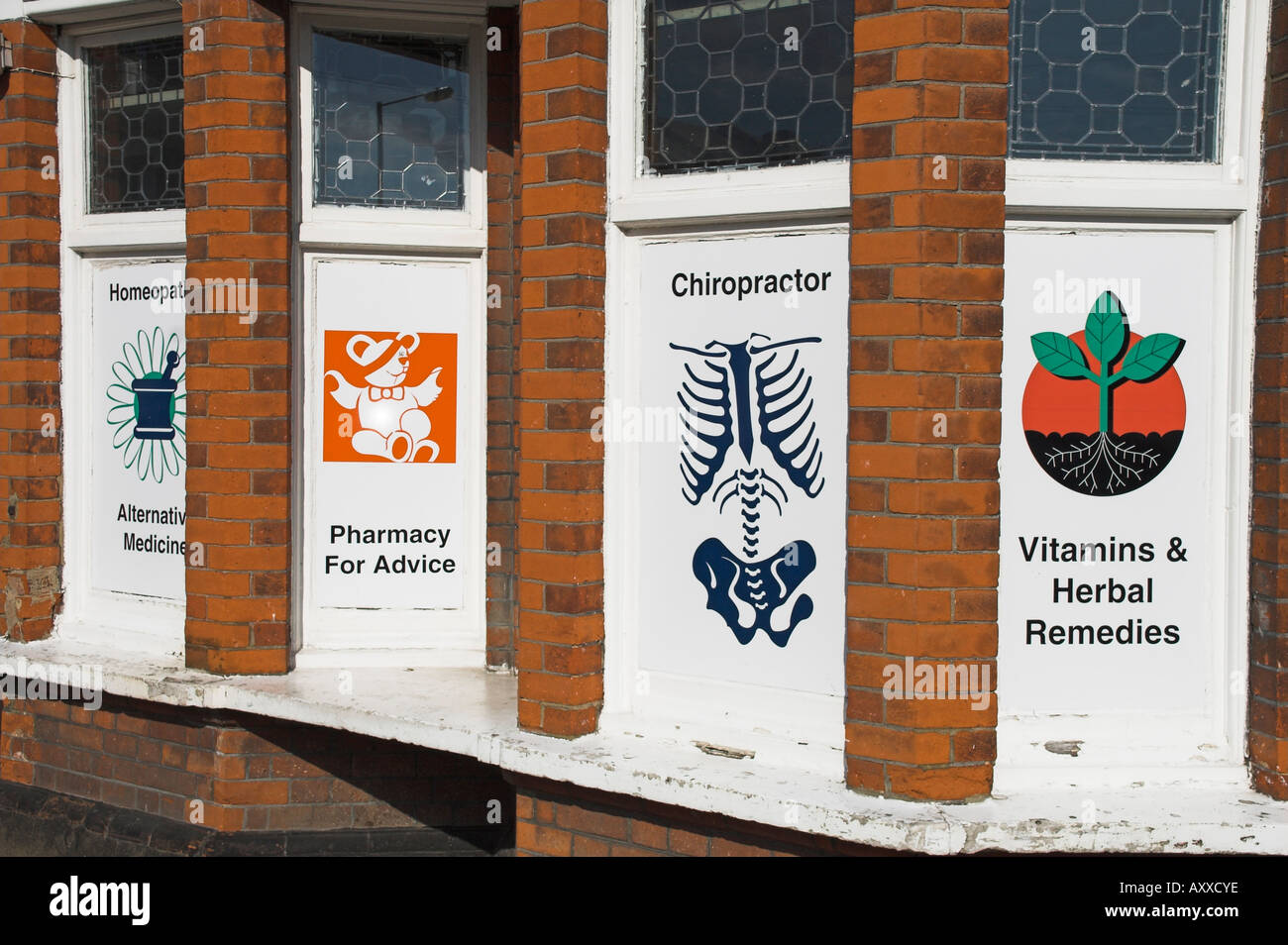 pharmacy practitioners of alternative medicine - Stock Image