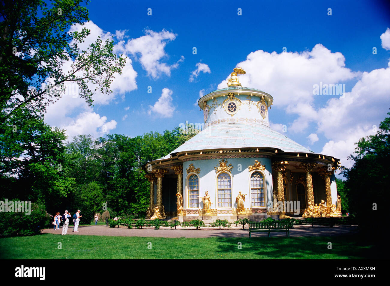 Exterior of the Chinese house, Potsdam, Germany, Europe - Stock Image