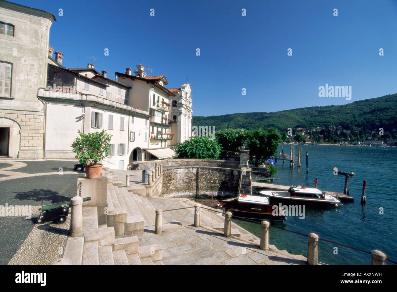 Isola Bella, Boromean Islands, Lake Maggiore, Italian Lakes, Piemonte (Piedmont), Italy, Europe - Stock Image