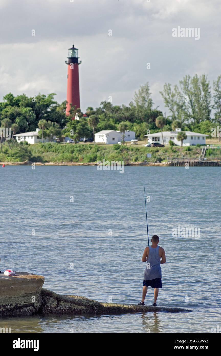 Jupiter lighthouse palm beach county florida fishing for Jupiter inlet fishing