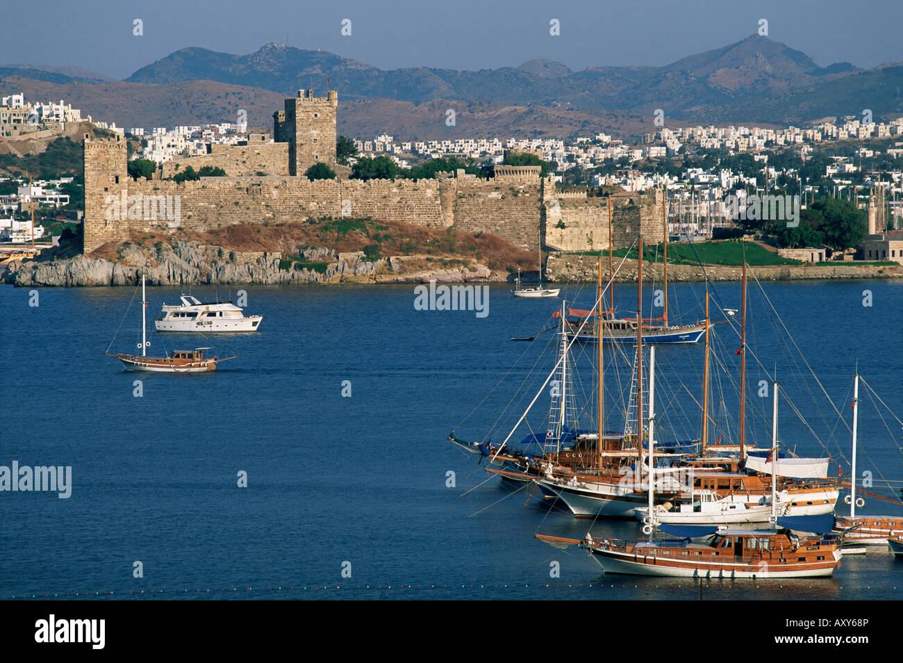 Chateau Saint Pierre, Bodrum, Egee region, Anatolia, Turkey, Asia Minor, Asia - Stock Image
