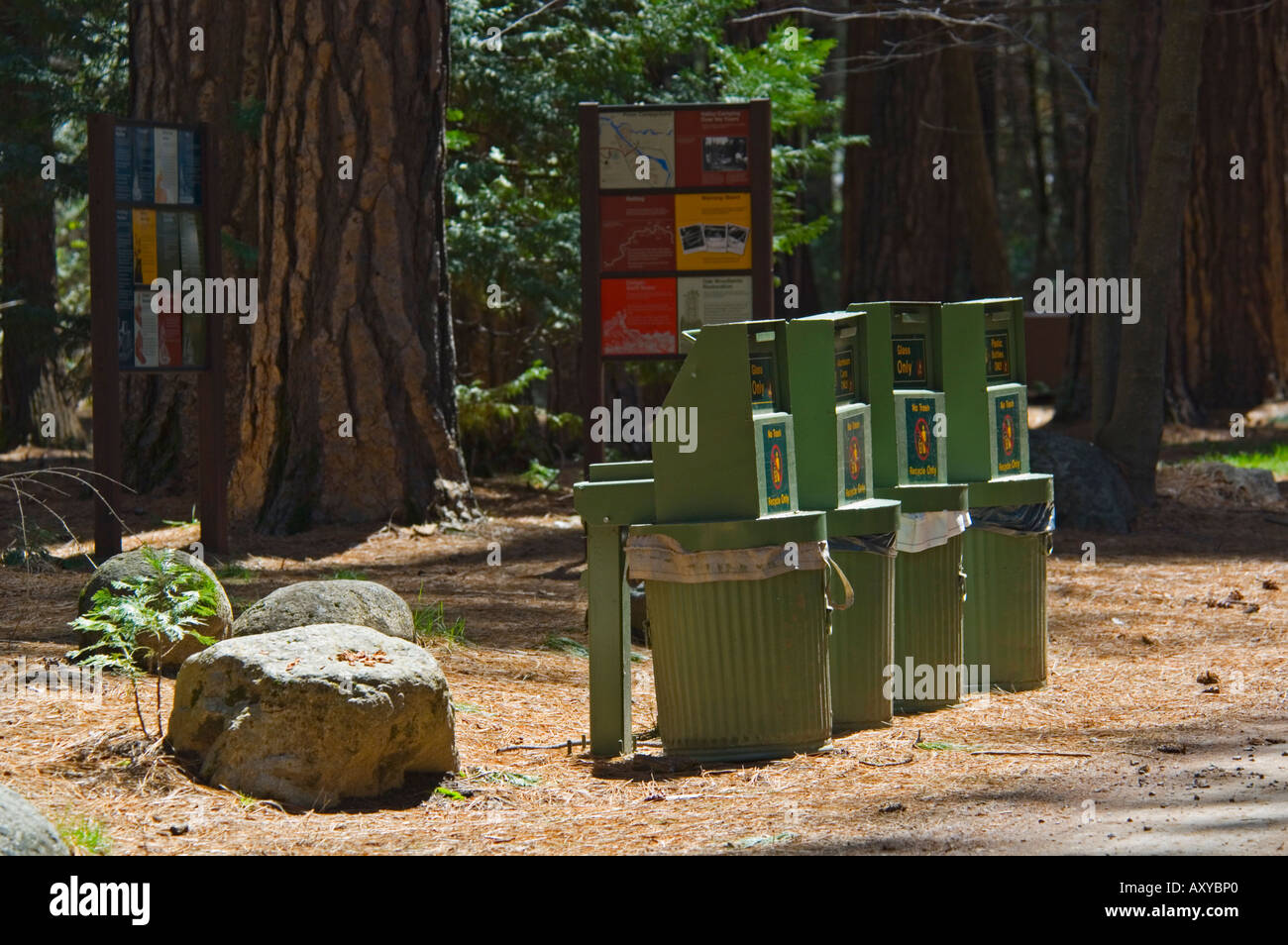 Bear Proof Trash Cans Stock Photos & Bear Proof Trash Cans Stock
