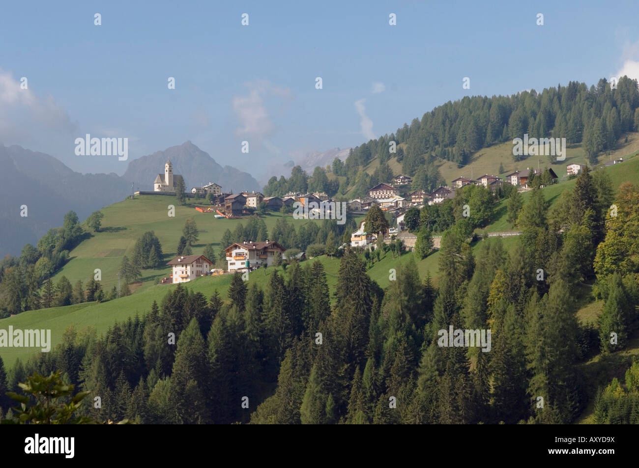 Colle S'Lucia, Dolomites, Italy, Europe - Stock Image