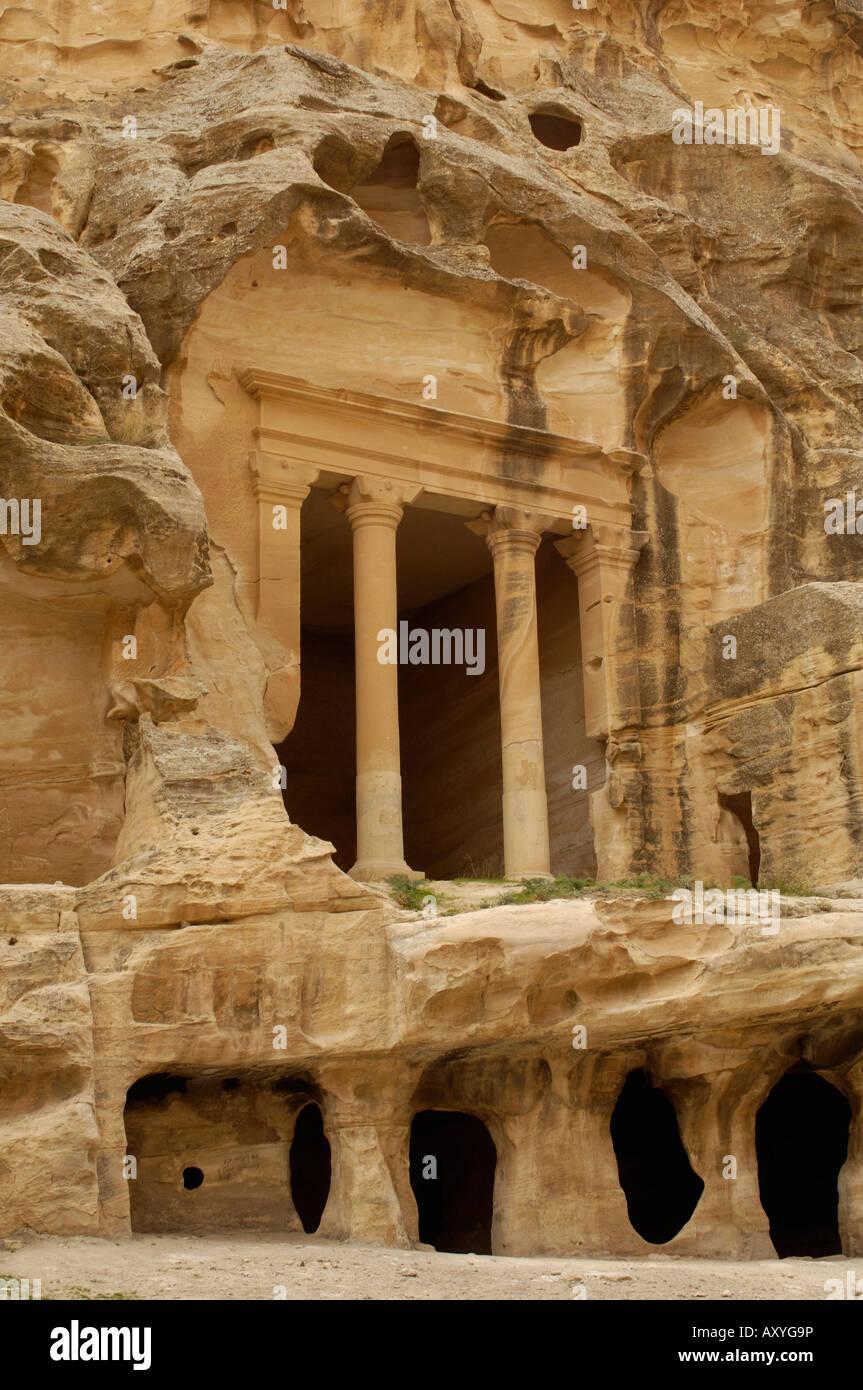 Beida (Little Petra), Nabatean site near Petra, Jordan, Middle East - Stock Image