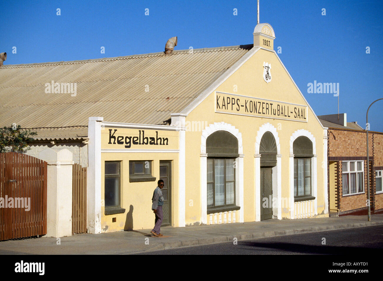 Lüderitz, 'Ballsaal', Totale - Stock Image