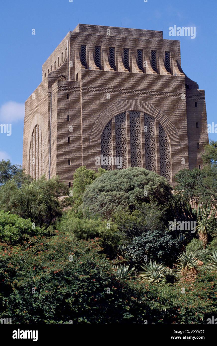 Pretoria, Voortrekkermonument, Totale - Stock Image