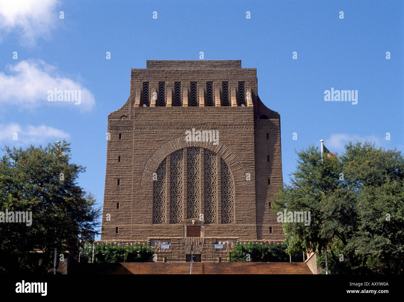 Pretoria, Vortrekkermonument, Totale - Stock Image