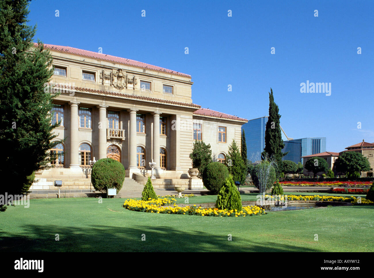 Bloemfontein, Court of Appeal, Totale - Stock Image
