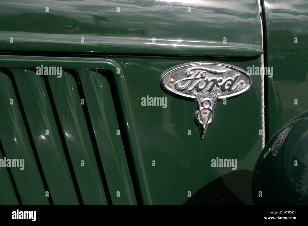 Old Symbol Of Ford Truck Stock Photo 1770960 Alamy