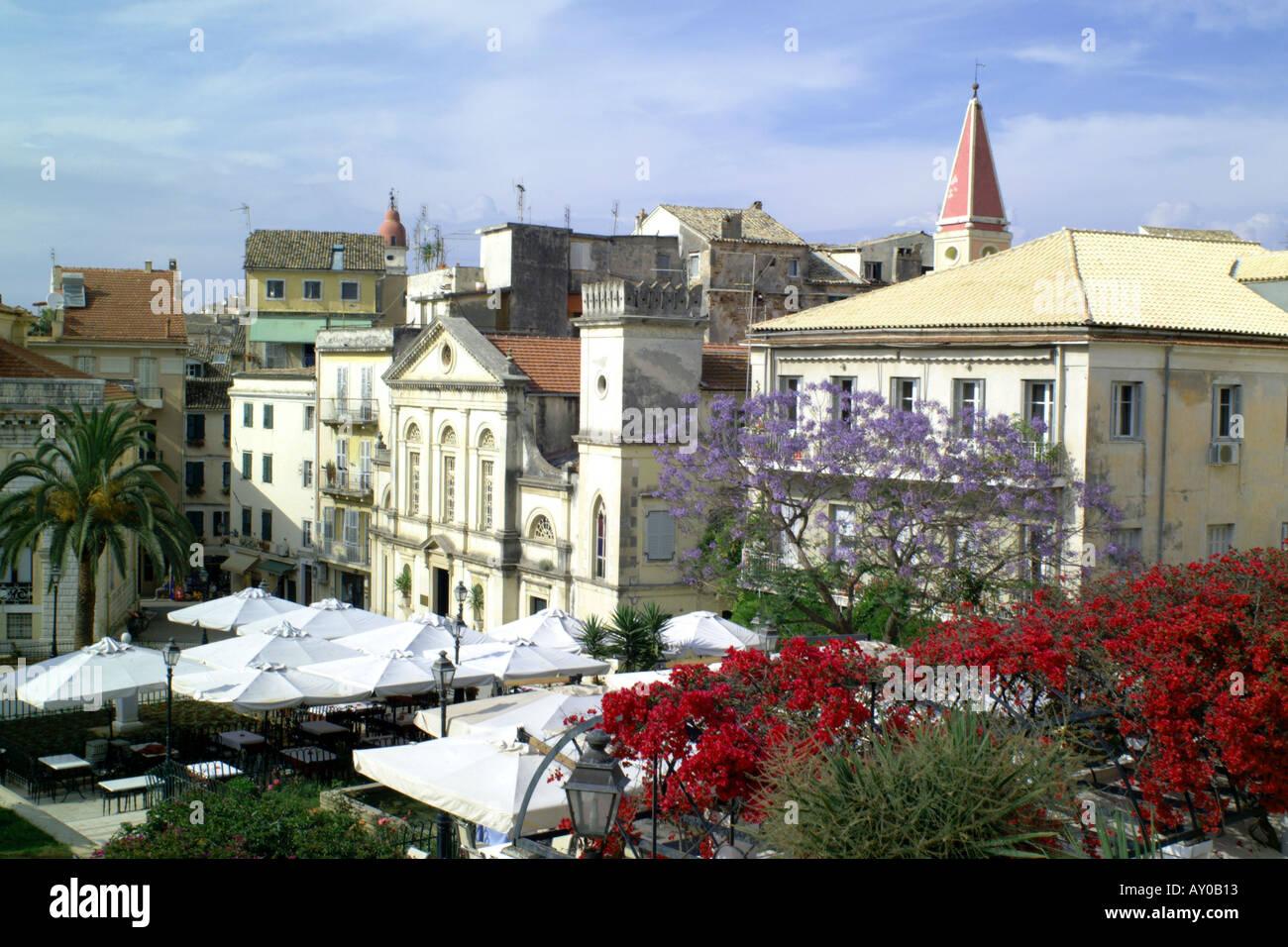 corfu town 06 - Stock Image