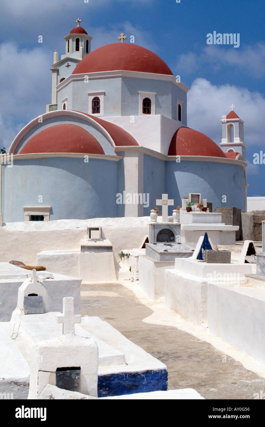 Kassos, Fri, Agia Triada, Kirche - Stock Image