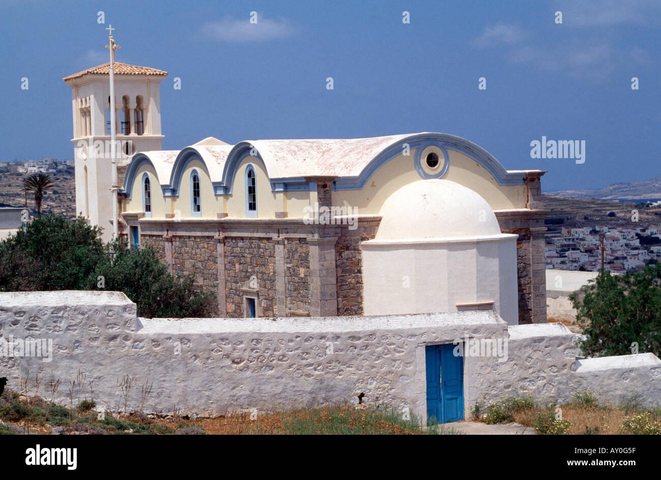 Kassos, Fri, Panagia Emborius, Kirche - Stock Image