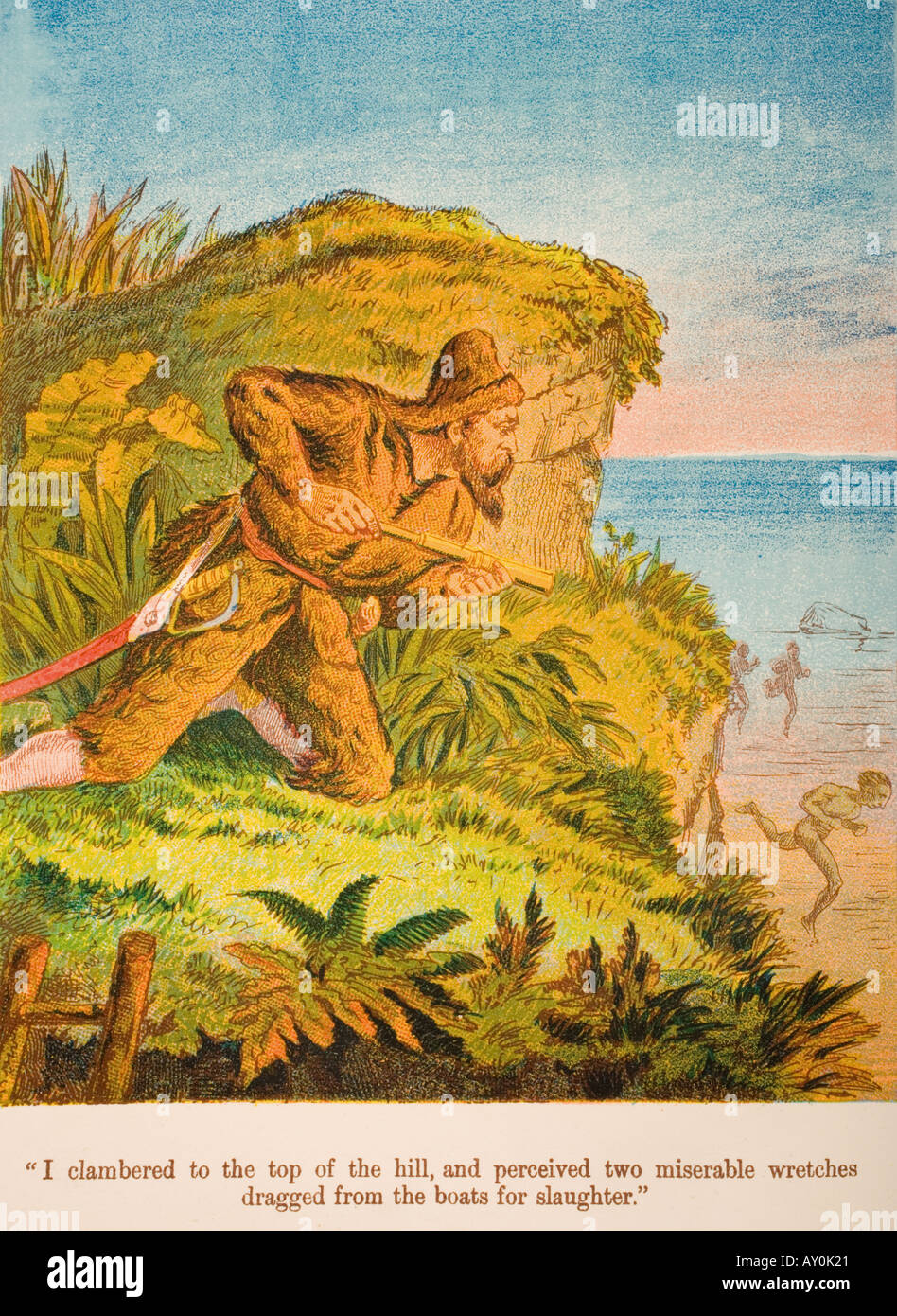Robinson Crusoe - Stock Image
