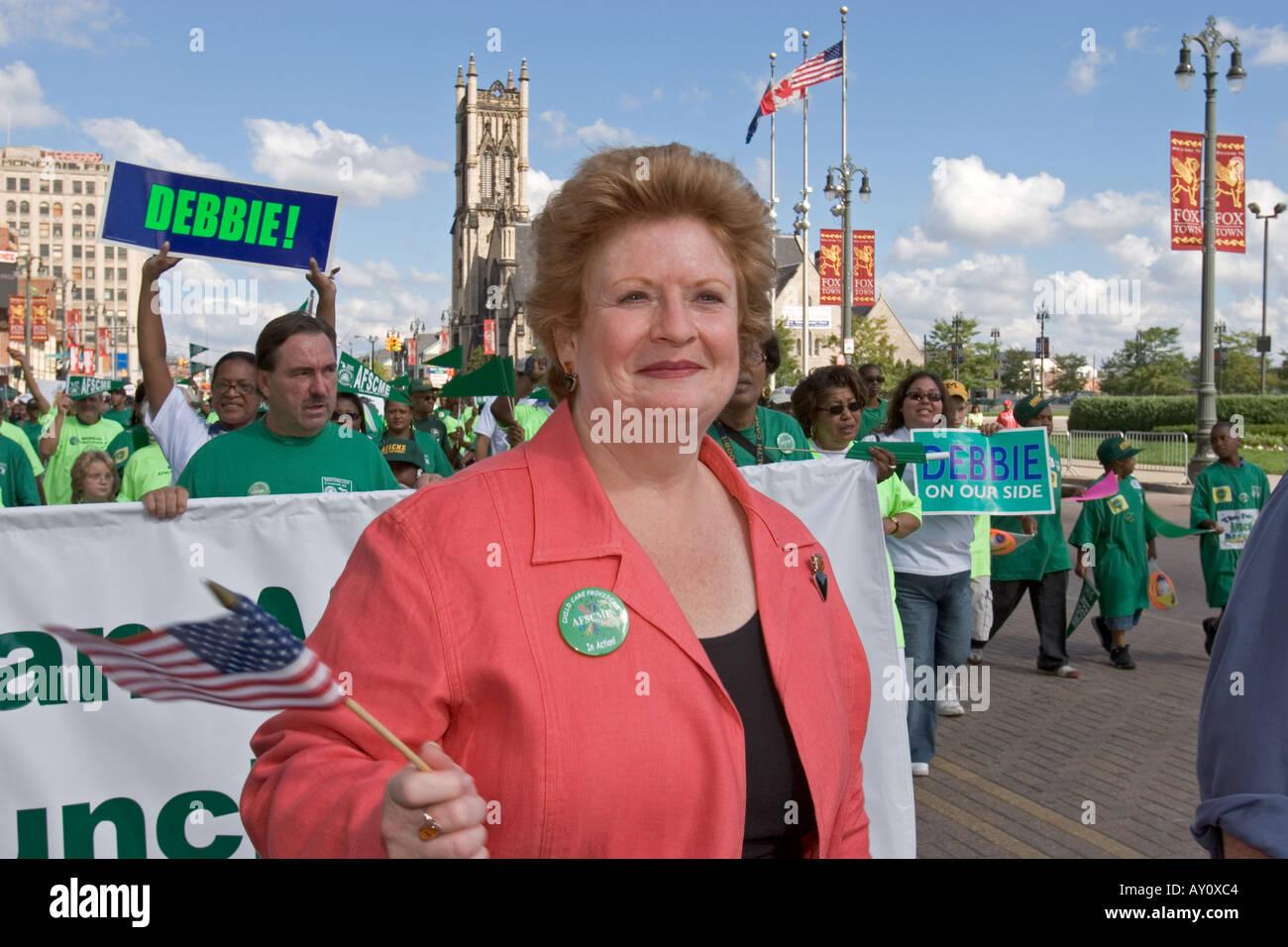 U.S. Senator Debbie Stabenow - Stock Image