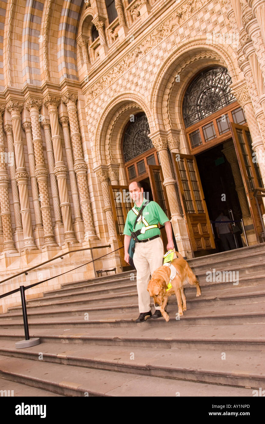 Blind runner and guide dog making history life with dogs.