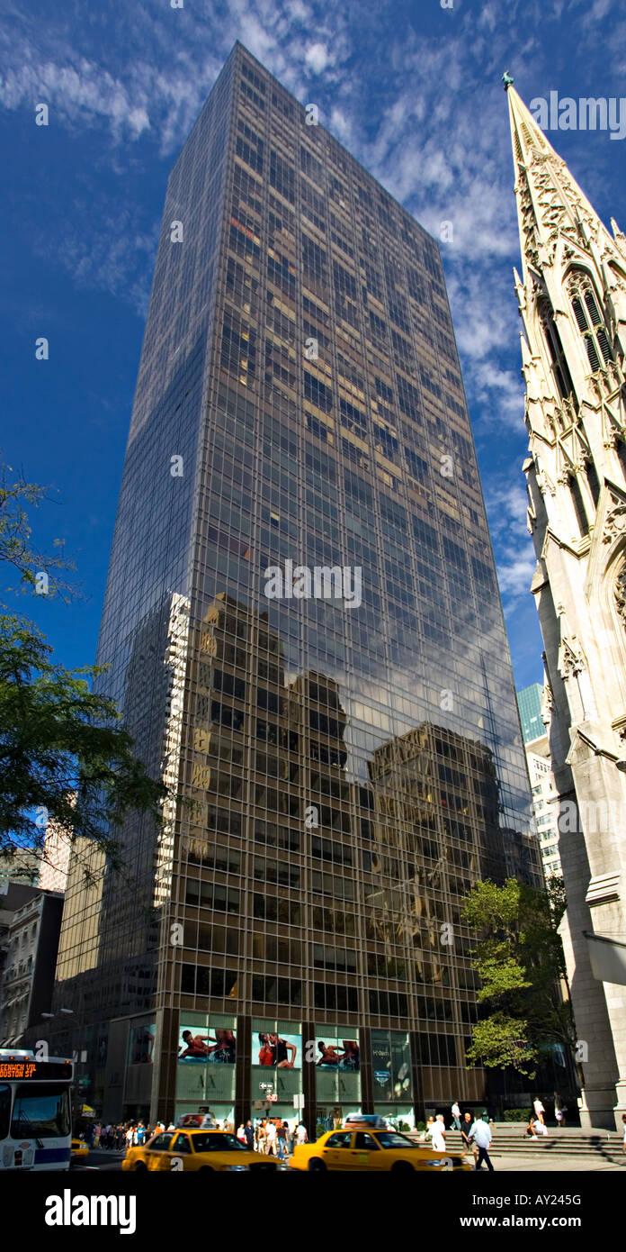 Olympic Tower New York Stock Photo Alamy
