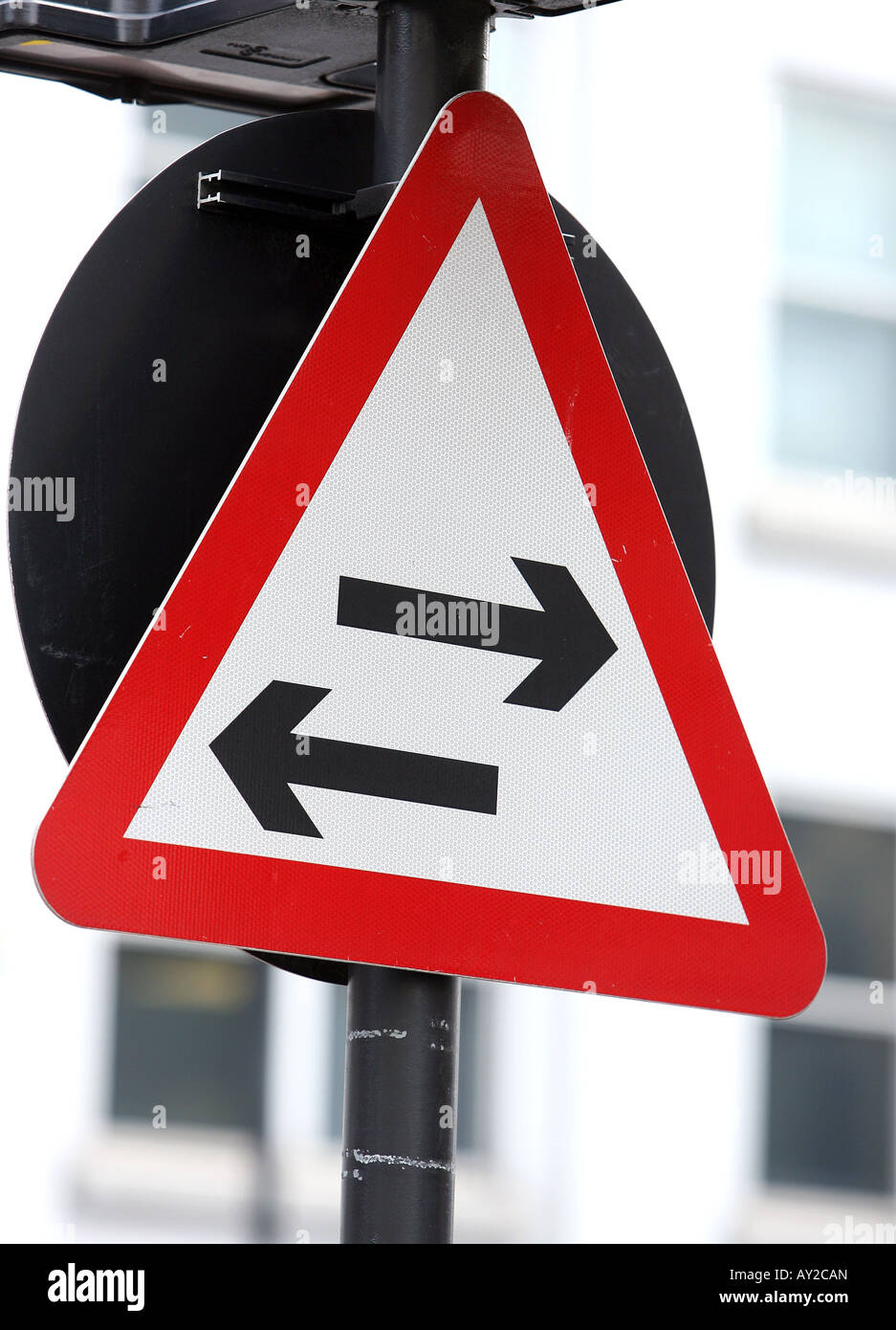 Road Signs Signals in London UK - Stock Image