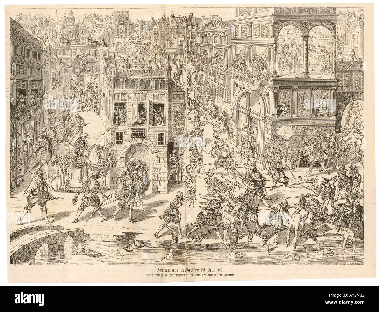 St Barts Massacre 1572