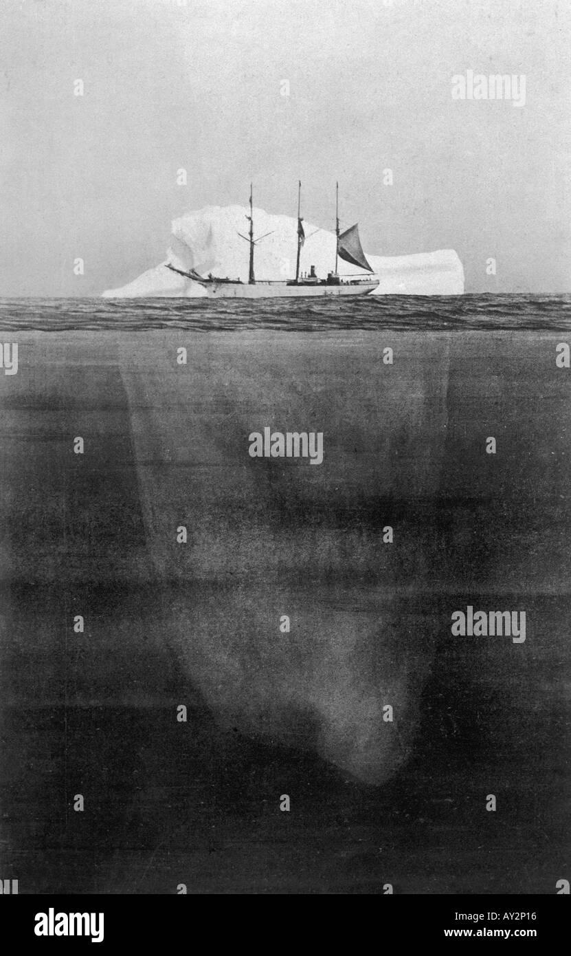 Titanic Iceberg Illustration Stock Photos Titanic Iceberg