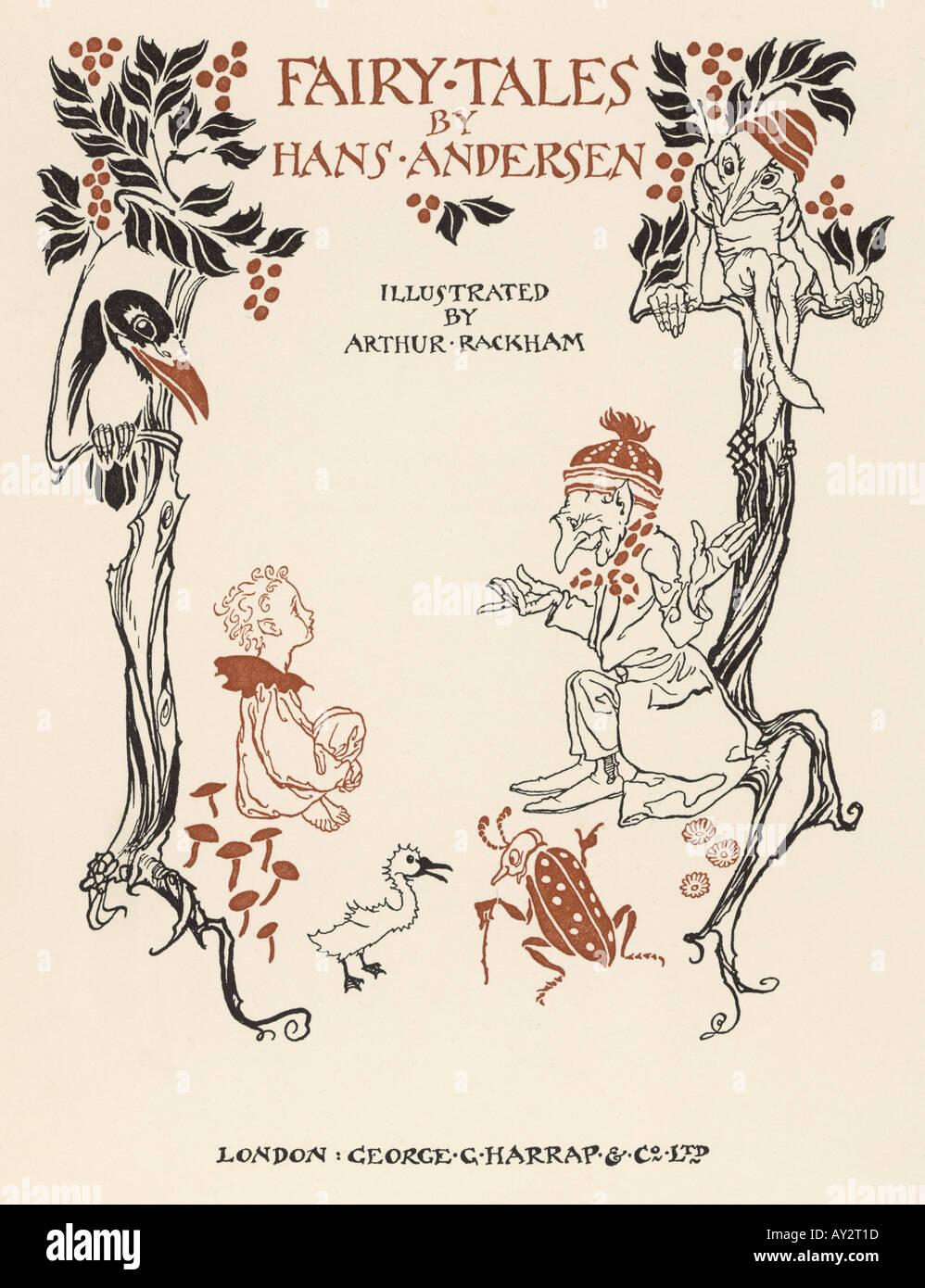 Andersen Fairy Tales - Stock Image
