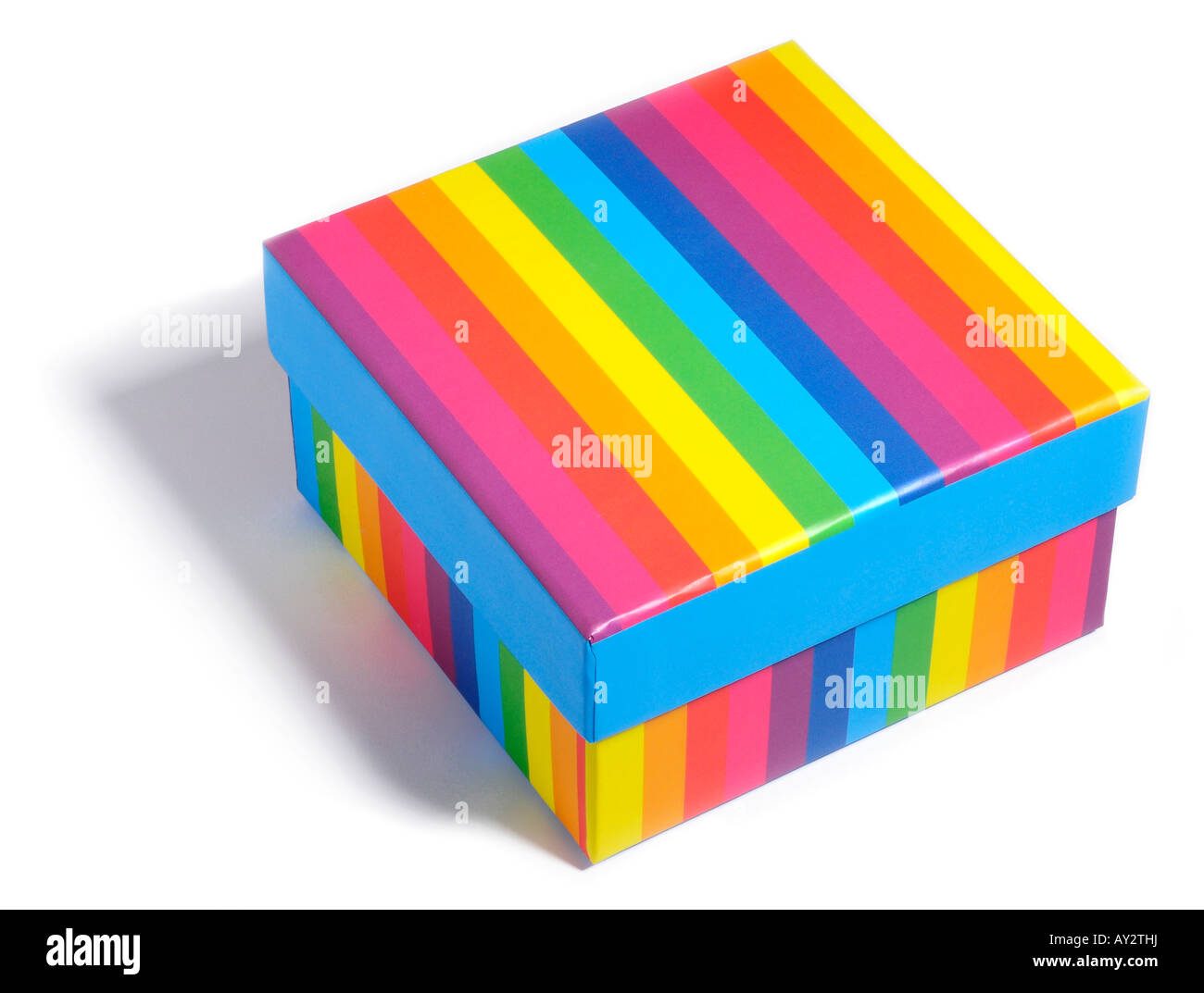 Multi coloured box. Picture by Patrick Steel patricksteel - Stock Image