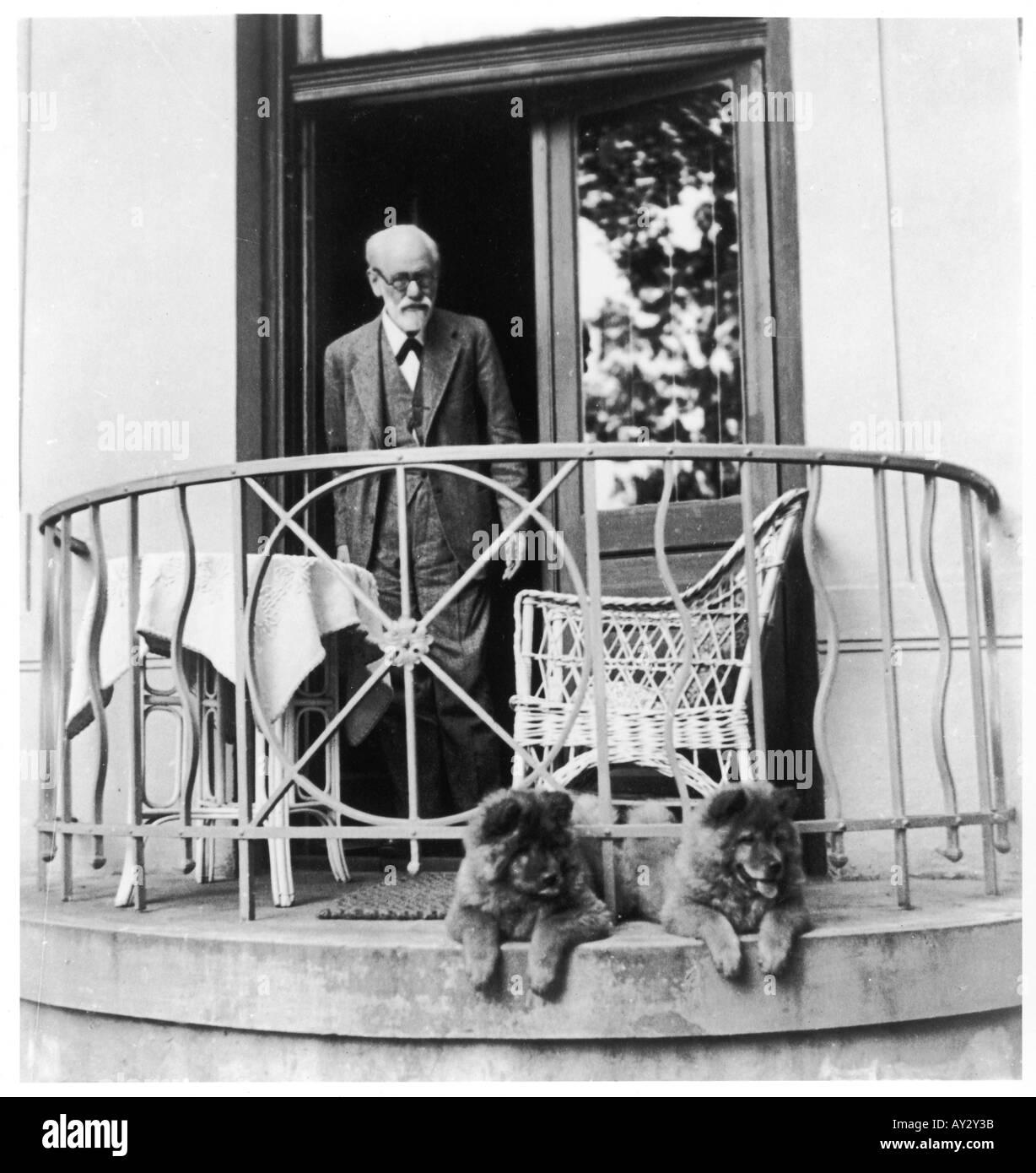 Sigmund Freud 1931 Neg17 - Stock Image