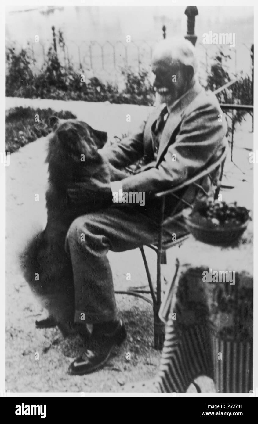 Sigmund Freud 1937 24c - Stock Image