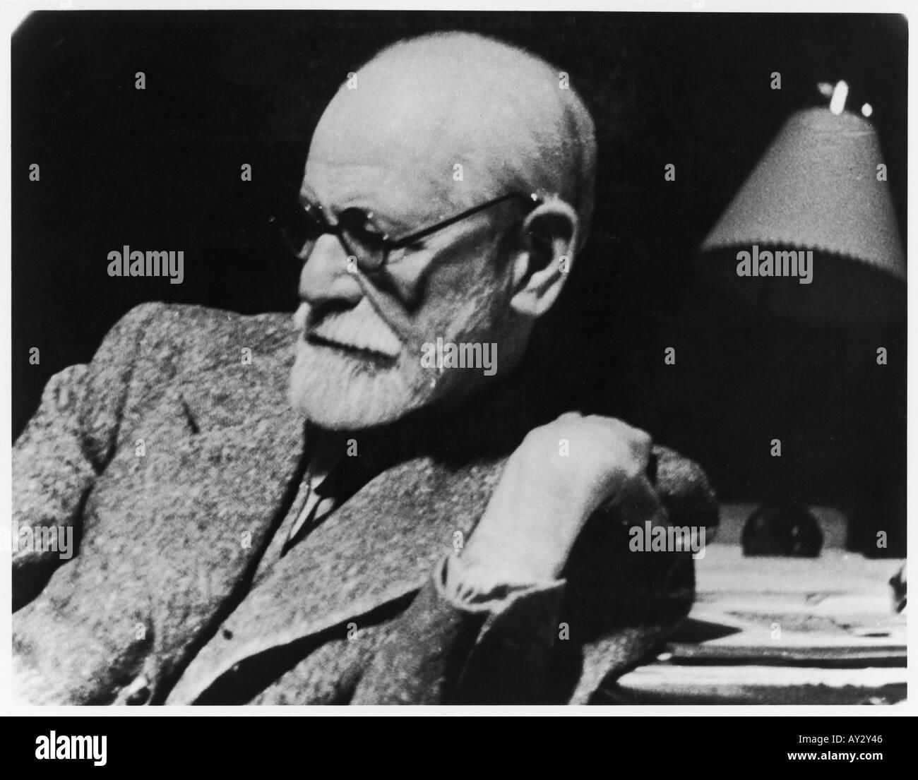 Sigmund Freud 1938 27a - Stock Image