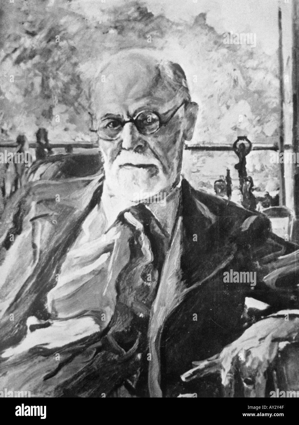 Sigmund Freud 1936 Neg23 - Stock Image