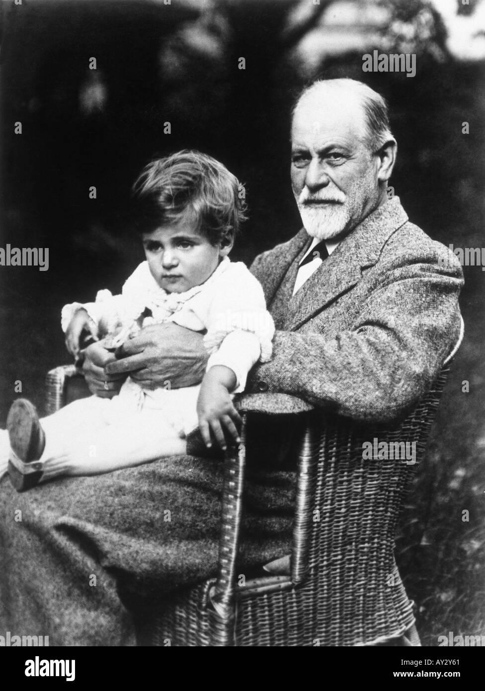 Freud Grandson 46 - Stock Image