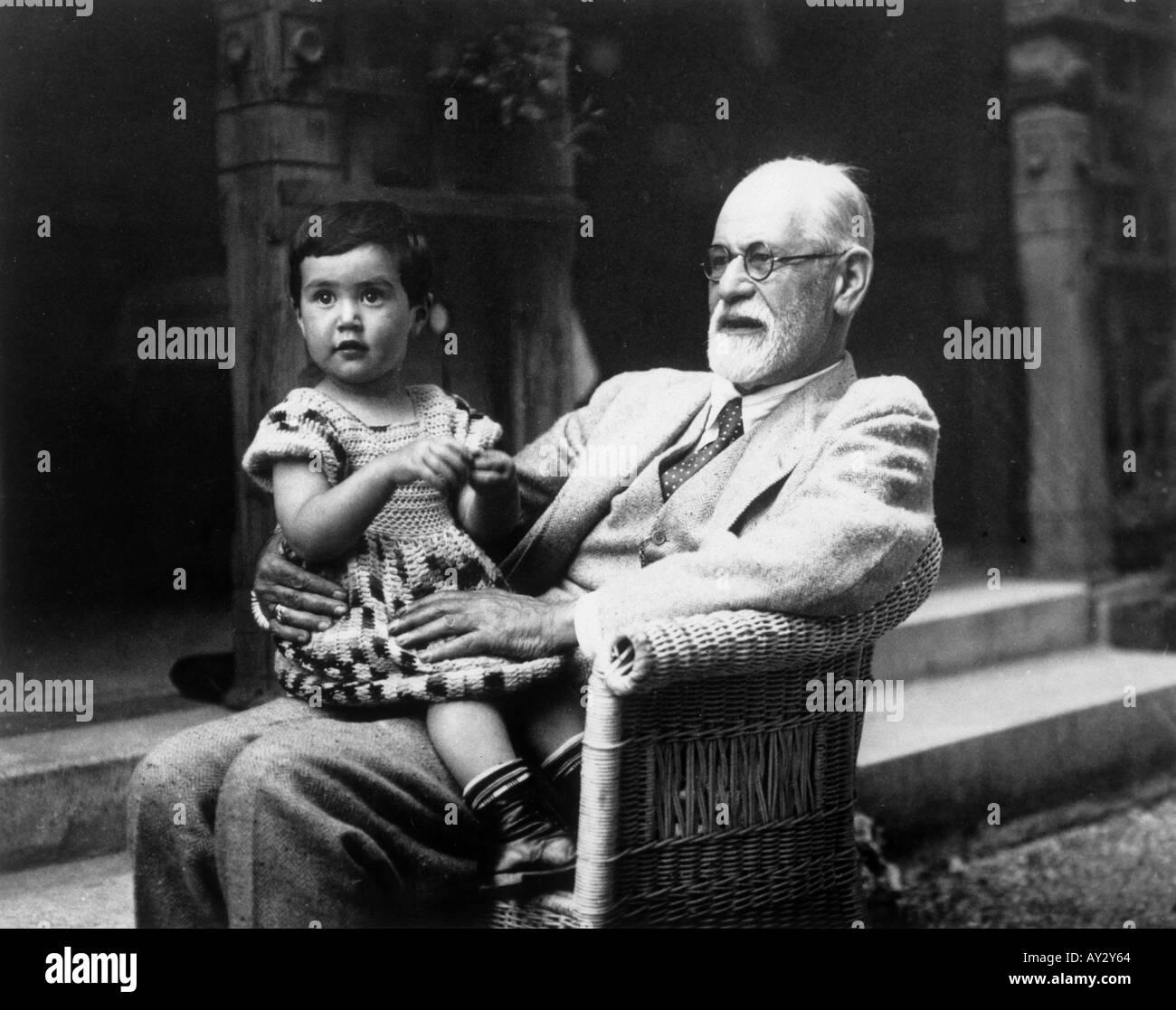 Freud Eve On Lap 48a - Stock Image