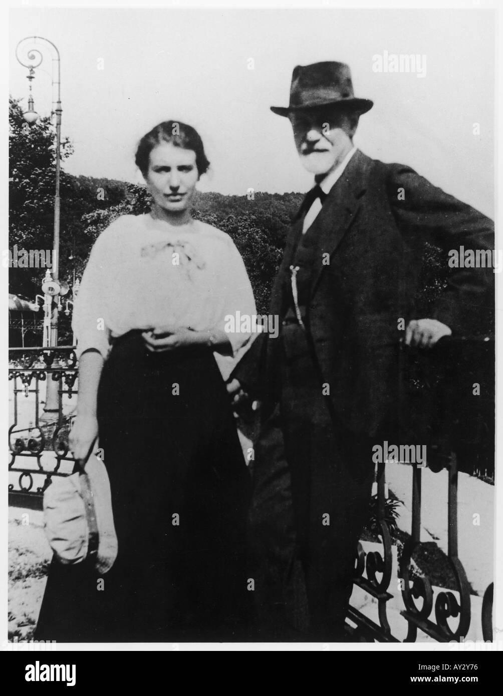 Freud Anna 1920 45c - Stock Image
